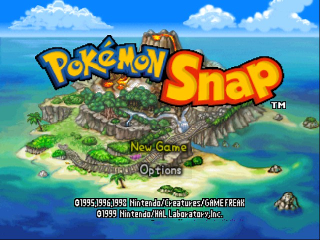 Pokemon Snap - Menus  - menus - User Screenshot